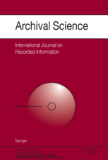 Archival Science magazine